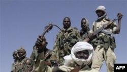 Совместный судано-чадский пограничный патруль. Западный Дарфур. Судан (архивное фото)