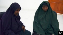 Asha, left, and Muna during an interview conducted at a U.N. compound in Somali town of Galkayo, Dec. 2, 2010. Aid workers in Somalia reported they were seeing an alarming number of rapes in refugee camps.