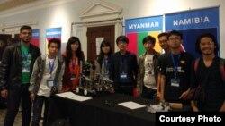 ျမန္မာလူငယ္အဖြဲ႔ First Global စက္ရုပ္ျပိဳင္ပဲြ မွာ စတင္ယွဥ္ျပိဳင္ (First Global Team Myanmar)