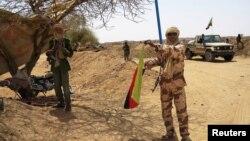 Một binh sĩ thuộc nhóm ly khai Tuareg
