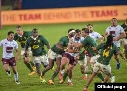 მსოფლიო ჩემპიონმა სამხრეთ აფრიკამ 2019 წლის ნოემბრის შემდეგ პირველად ითამაშა