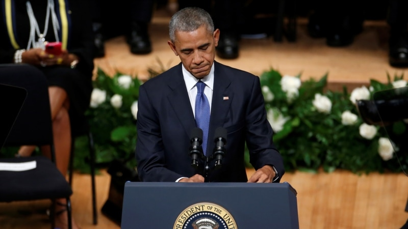 اوباما په ډالس کې وژل شوي پولیس وستایل