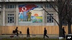 КНДР. Пхеньян, 10 апреля 2013г.