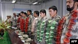Diplomirani pitomci avganistanske granične policije