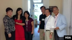VOA Lao Staffs