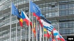 Le siège du Parlement européen, à Strasbourg, en France, le 10 mai 2016.