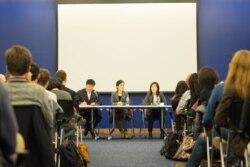 [뉴스 풍경 오디오 듣기] 미국 조지타운대학서 탈북자들 인권실태 증언