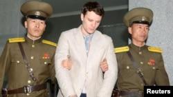 Otto Warmbier, seorang mahasiswa AS yang dibebaskan Korea Utara 16 Maret 2016, namun meninggal tak lama kemudian (foto: ilustrasi).