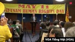 Vietnam Human Rights Day 2017 at the Capitol, May 11, 2017.