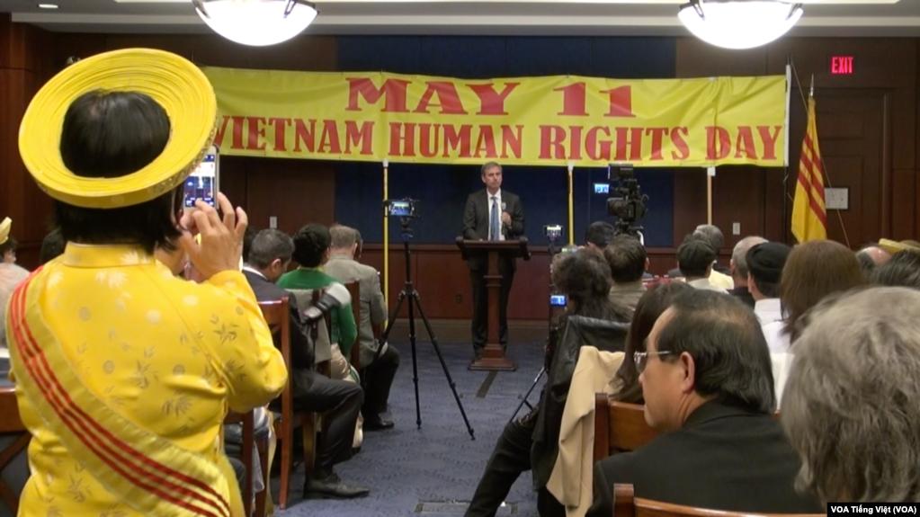 Lễ kỷ niệm Ngày Nhân quyền cho Việt Nam tại Quốc hội Hoa Kỳ, 11/5/2017.