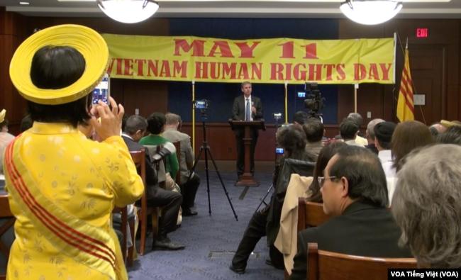 Lễ kỷ niệm Ngày Nhân quyền cho Việt Nam tại Quốc hội Hoa Kỳ, 11/5/2017
