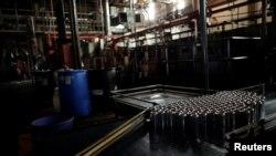 یک کارخانه در ونزوئلا که فعالیتش به خاطر قطعی برق متوقف شده است - آرشیو