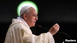 로마 가톨릭 교회 프란치스코 교황. (자료사진)