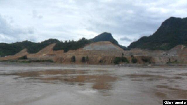 Địa điểm xây dựng đập Xayaburi trên sông Mekong