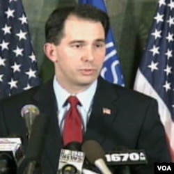 Scott Walker, guverner Wisconsina