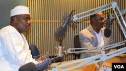 Kakaki Aminu Waziri Tambuwal ya zanta da Muryar Amurka. (File Photo)
