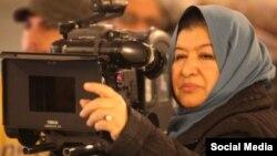 پوران درخشنده کارگردان سینمای ایران - آرشیو