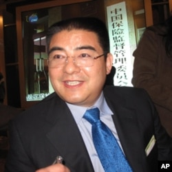 陈光标接受记者采访