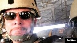 5일 아프가니스탄서 무장반군들의 공격으로 사망한 NPR 방송의 데이비드 길케이 기자. 동료 기자의 트위터에 게재된 사진. (자료사진)