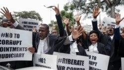 Des centaines d'avocats ont marché à Harare pour réclamer justice