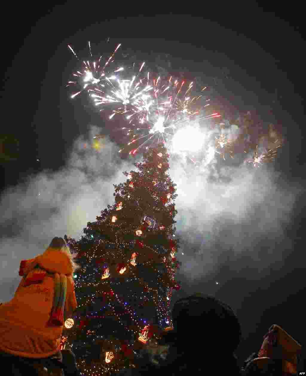 Праздник в столице Болгарии Софии. Фото Reuters