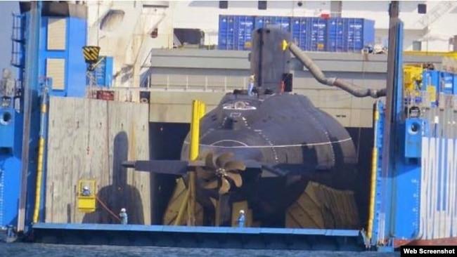 Tàu ngầm Kilo Việt Nam mua của Nga. (Web screenshot indiandefensenews)