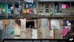 Kawasan perkampungan kumuh di Huruma, Nairobi (foto: dok). Nairobi, Kenya akan menjadi tuan rumah UNCTAD 14 yang antara lain membahas meningkatnya ketidaksetaraan global sebagai penghambat perdagangan internasional.
