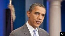 奥巴马总统8月2日
