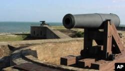 Utvrda Fort Gaines, iz vremena američkog Građanskog rata, u saveznoj državi Alabami