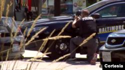 Tras el duro despliegue policial, el individuo finalmente se rindió ante las autoridades.