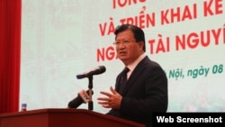 Phó thủ tướng Việt Nam Trịnh Đình Dũng hôm 8/1 nói rằng không để xảy ra sự cố như Formosa. (Photo: Zing.vn)