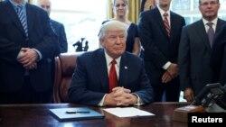 Predsednik SAD Donald Tramp