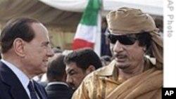 意大利总理不顾争议访问利比亚