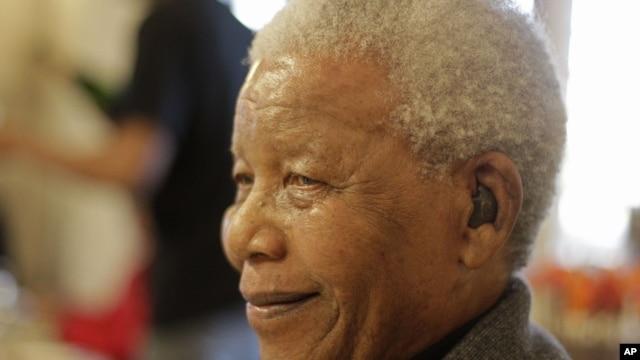 Tsohon shugaban kasar Afirka ta Kudu Nelson Mandela