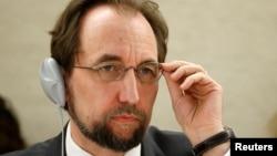 联合国人权事务高级专员就扎伊德•拉阿德•侯赛因
