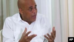 Le président Michel Joseph Martelly