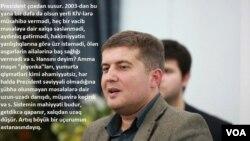 Erkin Qədirli Sərbəst Kürsüdə