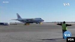 Российский самолет доставил в аэропорт Нью-Йорка 60 тонн «гуманитарного груза»