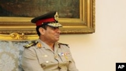 Menteri Pertahanan Mesir, Abdel-Fattah el-Sissi (Foto: dok).