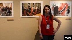Amanda Rivkin (Foto Amanda Rivkinin Facebook səhifəsindən götürülüb)