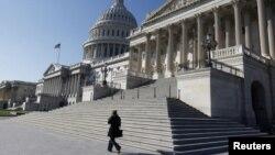 Le Capitole à Washington où siège le Congrès américain.