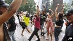 За несколько часов до начала съезда Демократической партии. Шарлотт, Северная Каролина. 4 сентябра 2012 года