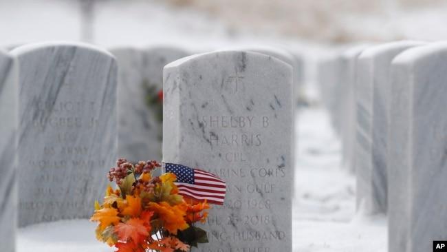 El Día de los Veteranos en Estados Unidos fue conmemorado este 11 de noviembre de 2019 en medio de nevadas.