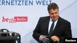 德国副总理兼联邦经济和能源部长西格玛尔·加布里尔