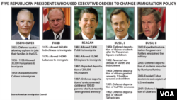 5 Republican presidents who used executive orders to change immigration policy