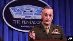 美軍參謀長聯席會議主席鄧福德將軍