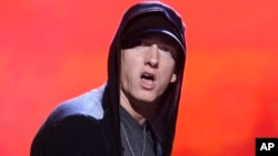 Penyanyi rap Eminem. (Foto: Dok)