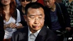 中国前人权律师江天勇。