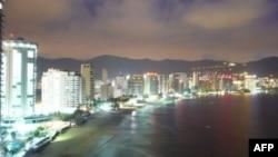 Thành phố nghỉ mát Acapulco ở Mexico