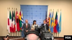 Nikki Haley, l'ambassadrice des Etats-Unis aux Nations-Unies